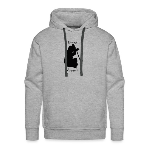 black bored apparel logo - Men's Premium Hoodie