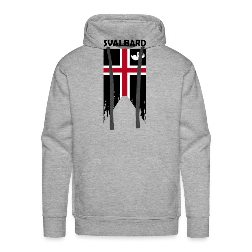 Svalbard the completely fictitious flag - Men's Premium Hoodie