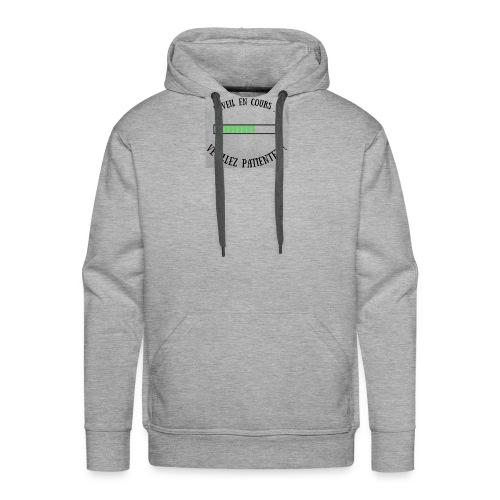 Réveil en cours ! - Sweat-shirt à capuche Premium pour hommes
