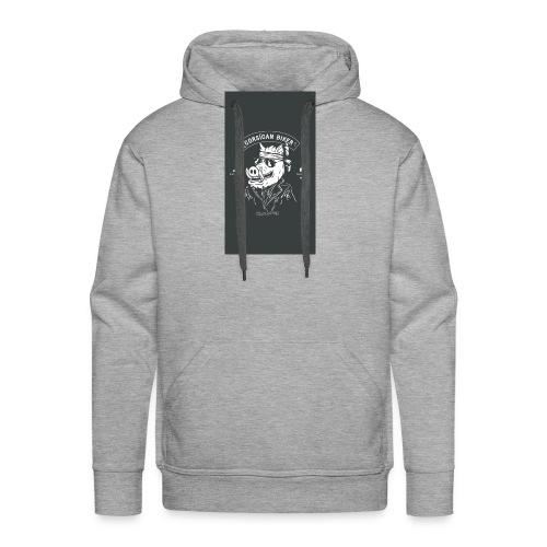 CORSEAMOTO coque png - Sweat-shirt à capuche Premium pour hommes