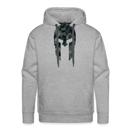 Sparta military pattern 1 - Männer Premium Hoodie
