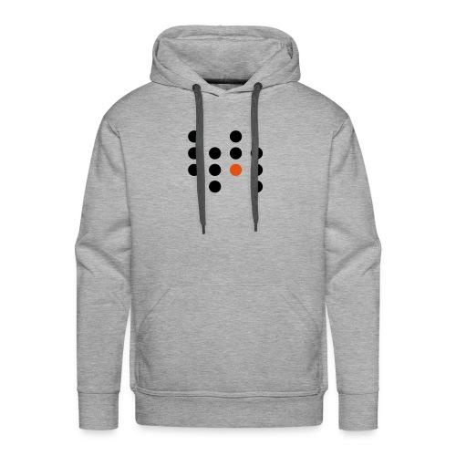 Simple Dots - Sudadera con capucha premium para hombre