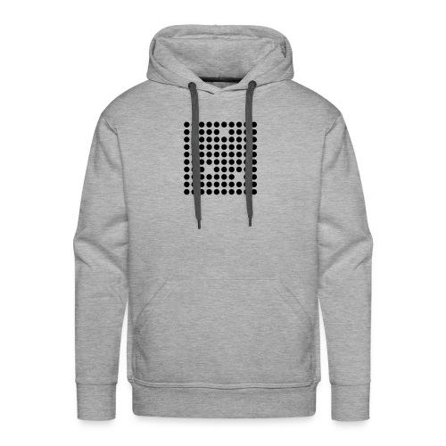 Sustractive Dots - Sudadera con capucha premium para hombre