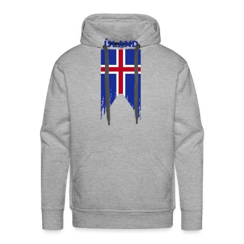 Island flosset flag - Men's Premium Hoodie