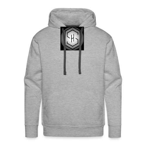 It's a s.h clothing brand which includes t shirts - Men's Premium Hoodie