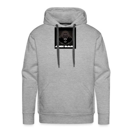 Alpha Annex Gaming logo - Men's Premium Hoodie