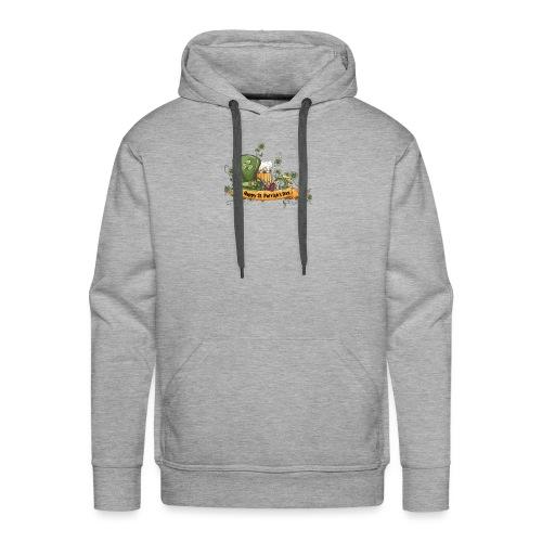 ST PATRICK BEER - Sweat-shirt à capuche Premium pour hommes