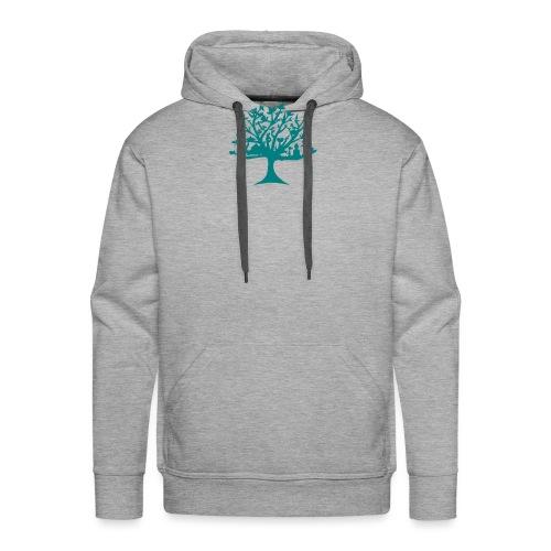 Yoga tree - Sweat-shirt à capuche Premium pour hommes