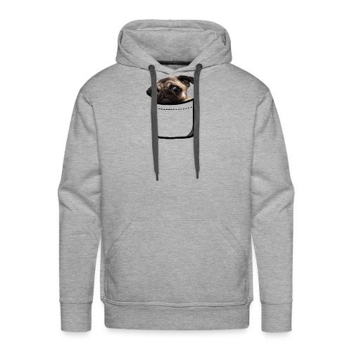 POCKET DOGGY - Felpa con cappuccio premium da uomo