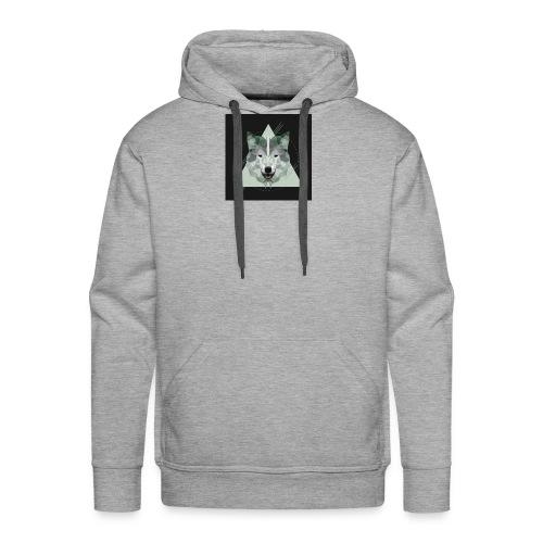 Geo wolf - Men's Premium Hoodie