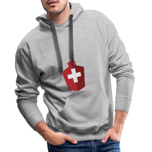 Schweizer Flagge - Schweiz - Männer Premium Hoodie