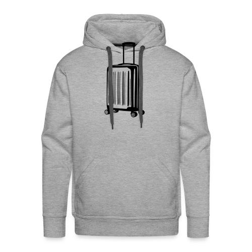 valise vectoriel - Sweat-shirt à capuche Premium pour hommes
