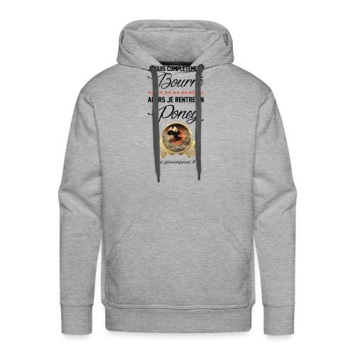 Jean Michel Panda Bourré - Sweat-shirt à capuche Premium pour hommes