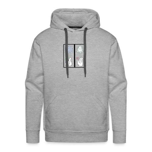 Anti Xmas T Shirt Schnee - Männer Premium Hoodie