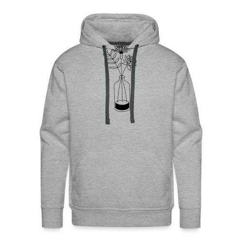 Flowers - Sweat-shirt à capuche Premium pour hommes