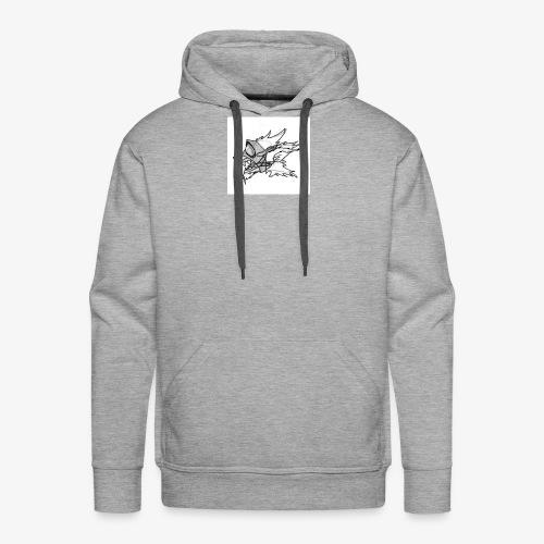 Chien masque - Sweat-shirt à capuche Premium pour hommes