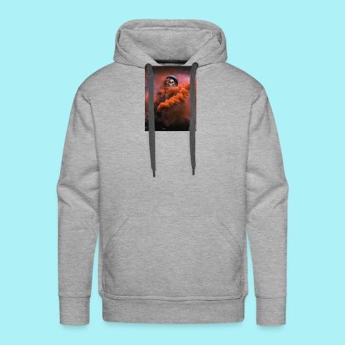 Squelette brumeux - Sweat-shirt à capuche Premium pour hommes
