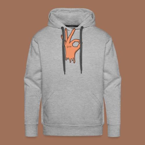 ok hand - Sweat-shirt à capuche Premium pour hommes