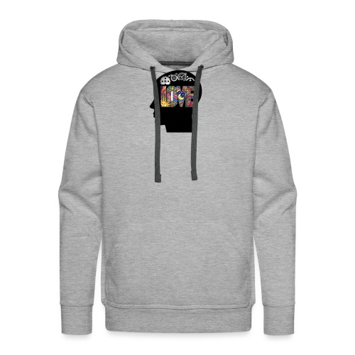 Love in my head - Mannen Premium hoodie