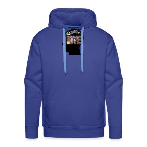 Love in my head - Mannen Premium hoodie