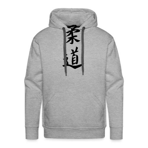 Judo Symbol - Männer Premium Hoodie