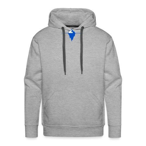Blaues Eis - Männer Premium Hoodie