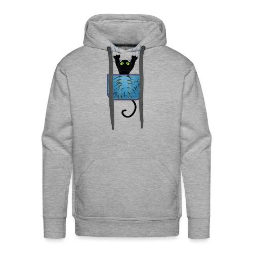 Gatete bolsillo - Sudadera con capucha premium para hombre
