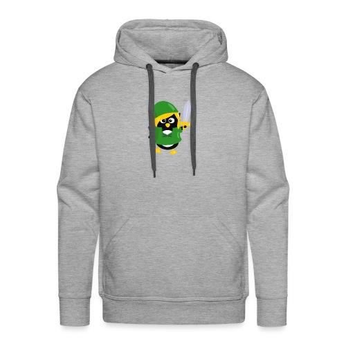 Pingouin Link - Sweat-shirt à capuche Premium pour hommes