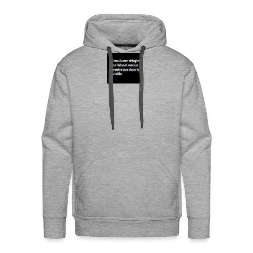 VenteSlmn - Sweat-shirt à capuche Premium pour hommes