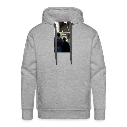 Hoesje van mij en emma - Mannen Premium hoodie