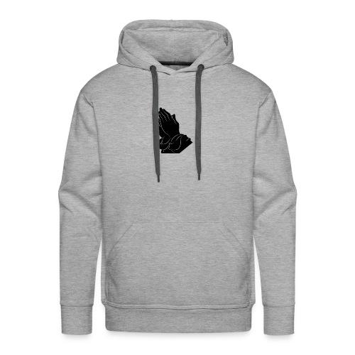 Pray logo - Männer Premium Hoodie
