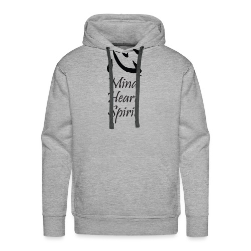 Studio Kokoro Mind Heart Spirit black - Men's Premium Hoodie