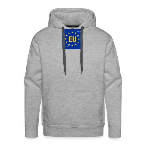 EU - Sudadera con capucha premium para hombre