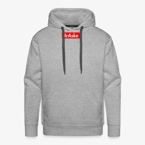 BrAske Grey - Herre Premium hættetrøje