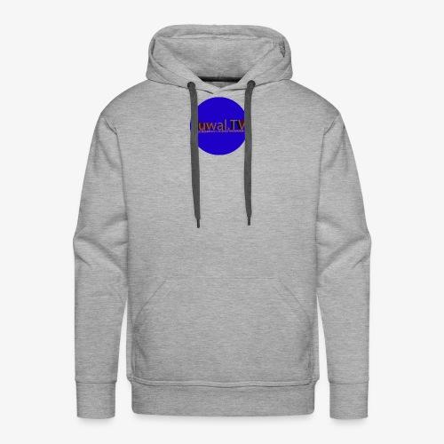 New logo JUWAL.TV - Sweat-shirt à capuche Premium pour hommes