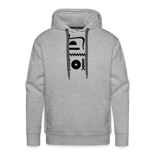Hieroglyphen: djet-neheh (ewiglich, in Ewigkeit) - Männer Premium Hoodie
