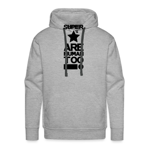 Inspired This! - Human Too! - Men's Premium Hoodie