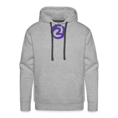 2Game Logo Purple - Men's Premium Hoodie