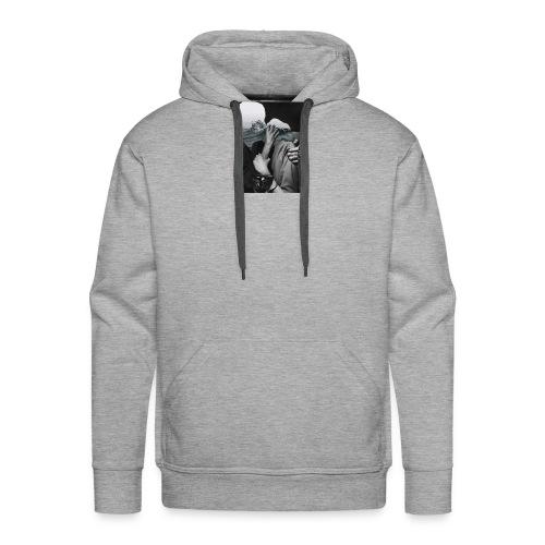 Les amants - Sweat-shirt à capuche Premium pour hommes