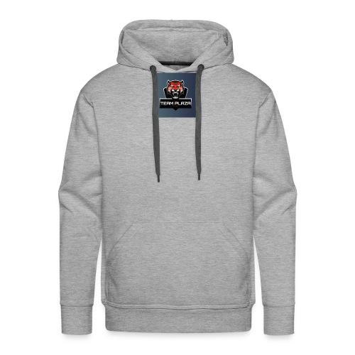 logo team plaza - Felpa con cappuccio premium da uomo