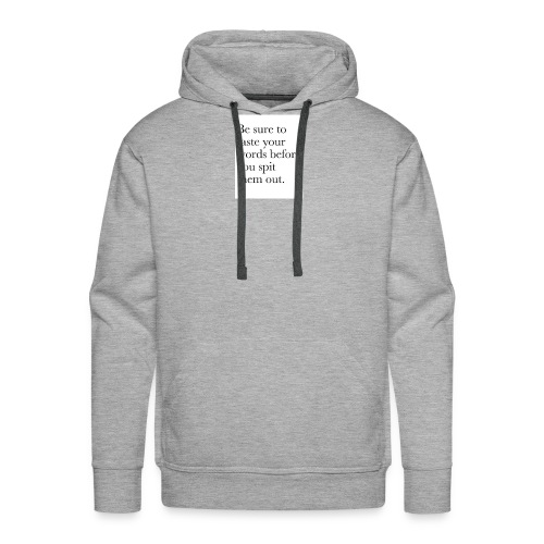 new life quotes - Men's Premium Hoodie