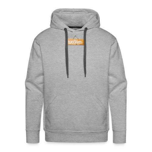welkom - Sweat-shirt à capuche Premium pour hommes