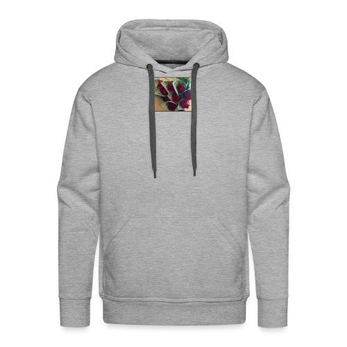 Buso gris - Sudadera con capucha premium para hombre