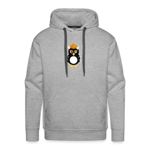 Pingouin Bowser - Sweat-shirt à capuche Premium pour hommes