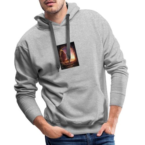 He is rising - Men's Premium Hoodie