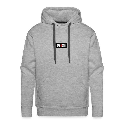 Bronson-Logo - Männer Premium Hoodie