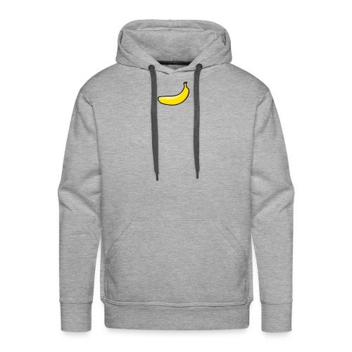 Classic Banana - Sweat-shirt à capuche Premium pour hommes