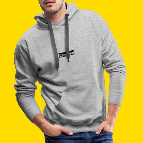 CENSORED ANTI-POPULATION-FORCE 2.0 - Sweat-shirt à capuche Premium pour hommes