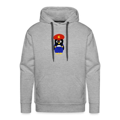 Pingouin Mario - Sweat-shirt à capuche Premium pour hommes