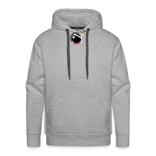 Testa Mora génétiquement Ribellu Corse azezzu - Sweat-shirt à capuche Premium pour hommes
